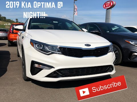 2019 Kia Optima @ Night!