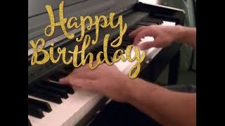 Happy birthday piano cover (sheet+midi)