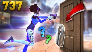 The Spawn Door Is LOCKED!! | Overwatch Daily Moments Ep.737 (Funny and Random Moments)