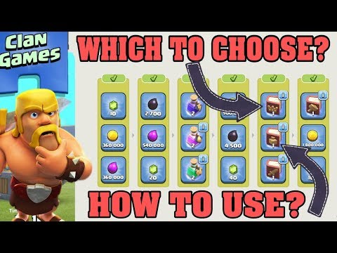 CLASH OF CLANS CLAN GAMES #2 ABOUT TO END. WHICH REWARDS TO CHOOSE.
