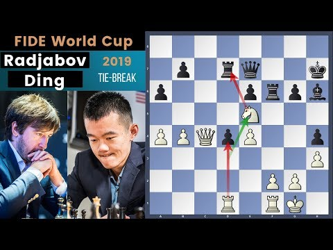 Out Of The Shadow! - Radjabov vs Ding | Fide World Cup 2019 Tie Break