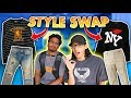 Style Swap CHALLENGE with SANGIEV! (London Fashion God)
