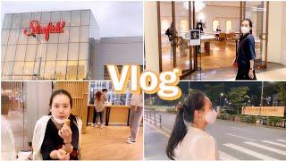 vlog 추석특집 브이로그♡ 스타필드 데이트 (feat…