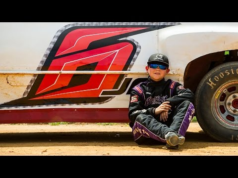 11-year-old wheels race car around Cochran Motor Speedway