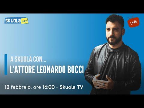 A Skuola con...Leonardo Bocci!