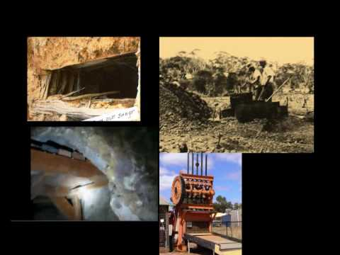 EARLY GOLD MINING IN SOUTHERN CROSS WA WESTERN AUSTRALIA