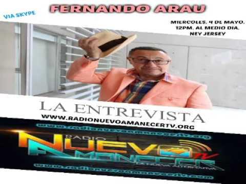 FERNANDO ARAU. LA ENTREVISTA.