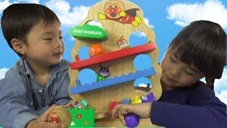 アンパンマン 森のたまおとし おもちゃ anpanman toy thumbnail