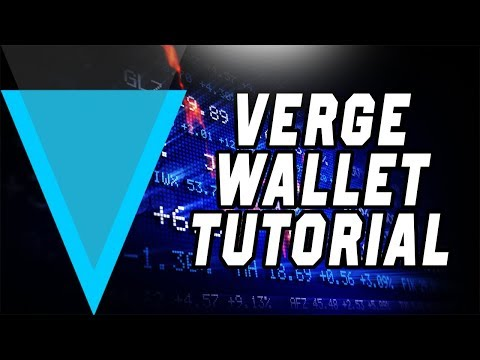 How To Install/Set up a Verge Wallet. (Funds Not Showing Up Bug FIX!)