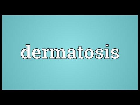 Dermatosis Meaning
