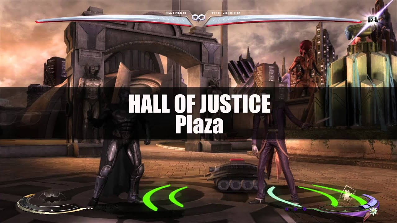 Injustice Gods Among Us All Level Interactions Around and
