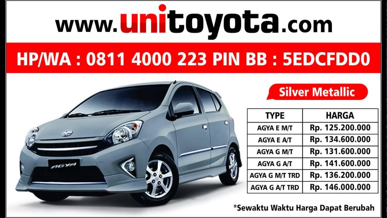 Kekurangan Harga Kredit Toyota Agya Harga