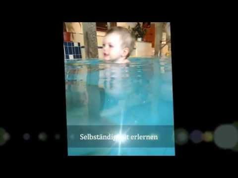 Babyschwimmen im Hotel Alte Post in Faistenau – Schwimmschule Salzburg