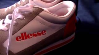 Ellesse Passo Mens Leather sneakers / Shoes - White / Grey