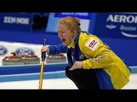 Curling: 2015 CCT Stockholm Ladies Curling Cup ¦ Round Robin ¦ PAETZ (SUI) - SIGFRIDSSON (SWE)