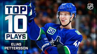 Top 10 Elias Pettersson Plays from 2019-20   NHL