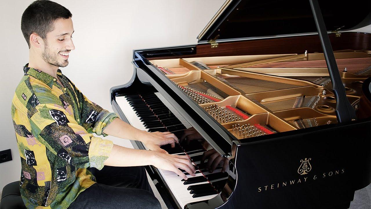 Luciano Pavarotti - O Sole Mio   Piano Cover + Sheet Music