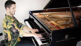 Luciano Pavarotti - O Sole Mio   Piano Cover + Sheet Music видео