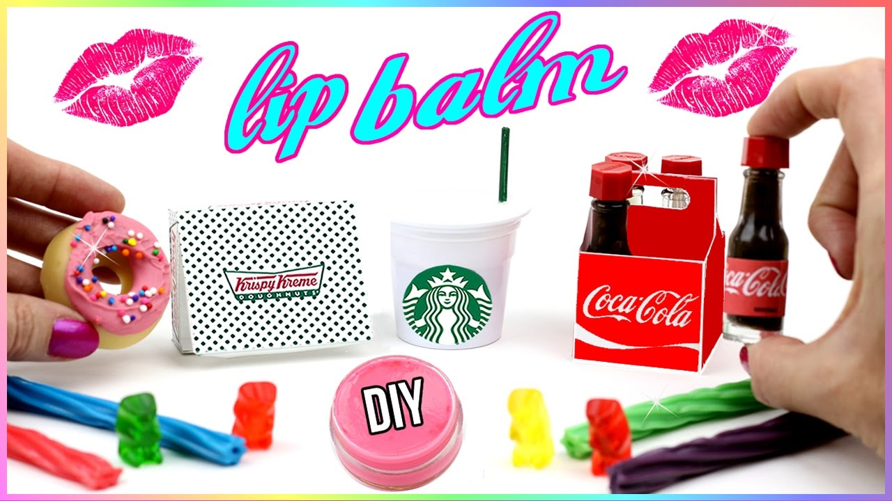 Colored DIY Dr.Pepper-Inspired Lip Balm advise