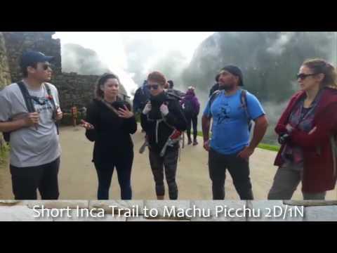 A hiking adventure to Machu Picchu in two days - TOUR IN PERU