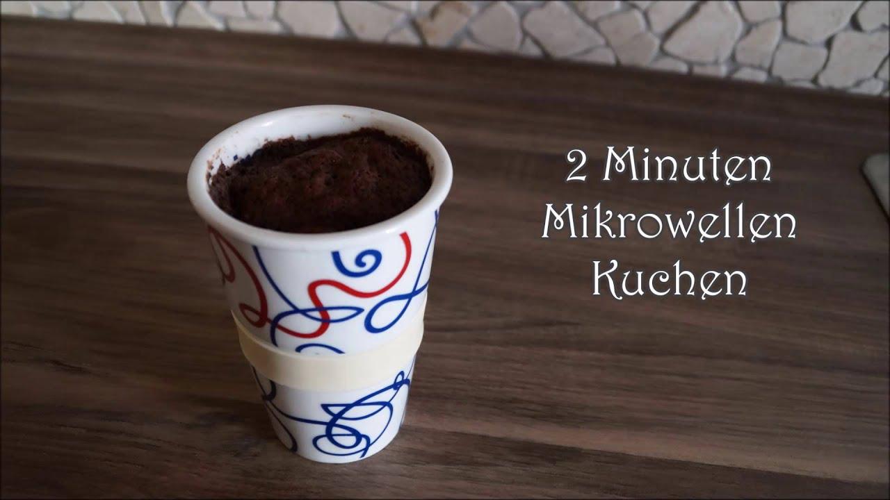 2 Minuten Mikrowellen Kuchen Youtube