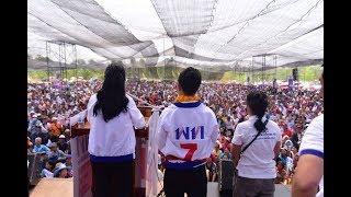 'สุดารัตน์' ปราศรัยภูเวียง จ.ขอนแก่น ดันไทยป้อนอาหารให้คนทั่วโลกใน 4 ปี