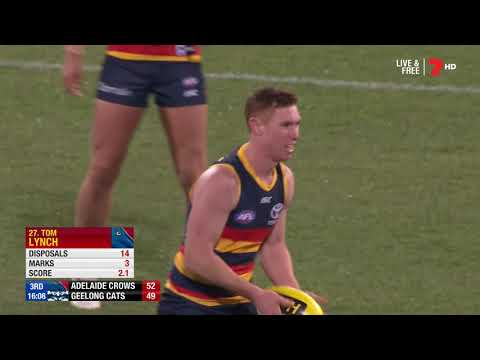 Round 17 Adelaide Crows Vs Geelong Cats 2018 Highlights