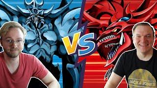 Yu-Gi-Oh! Kampf der Götter! Obelisk VS. Slifer! ft. CardJournalist