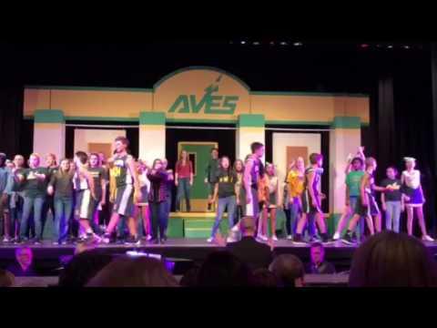 Sycamore Junior High School's High School Musical Jr production