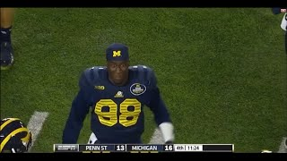 2014: Michigan 18 Penn State 13