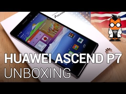 Huawei Ascend P7: unboxing and first impressions