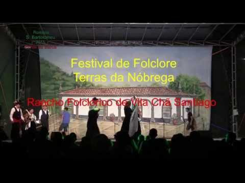 Rancho Folclórico de Vila Chã Santiago - Festival Terras da Nóbrega 2015 | Ponte da Barca TV