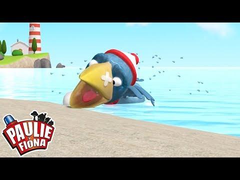 Paulie y Fiona | Fred Pescador en aguas turbias | Caricaturas para Niños | Caricaturas en Español