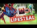 Dota 2 Tricks: LIFESTEAL from WARDS + BONUS!