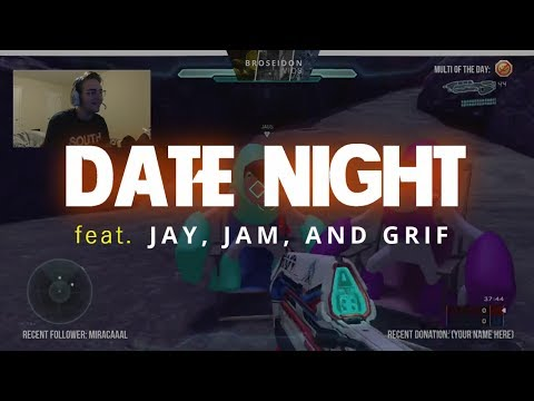 Date Night feat. Jay, Jam, and Grif - Puzzle Map