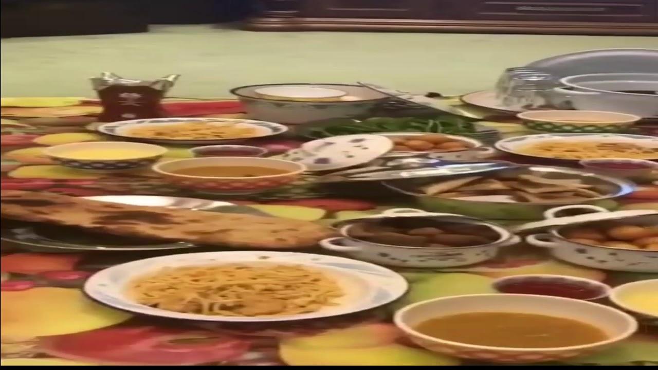 من ذكريات رمضان زمان وسفرة الفطور رمضان قديما ذكريات Youtube