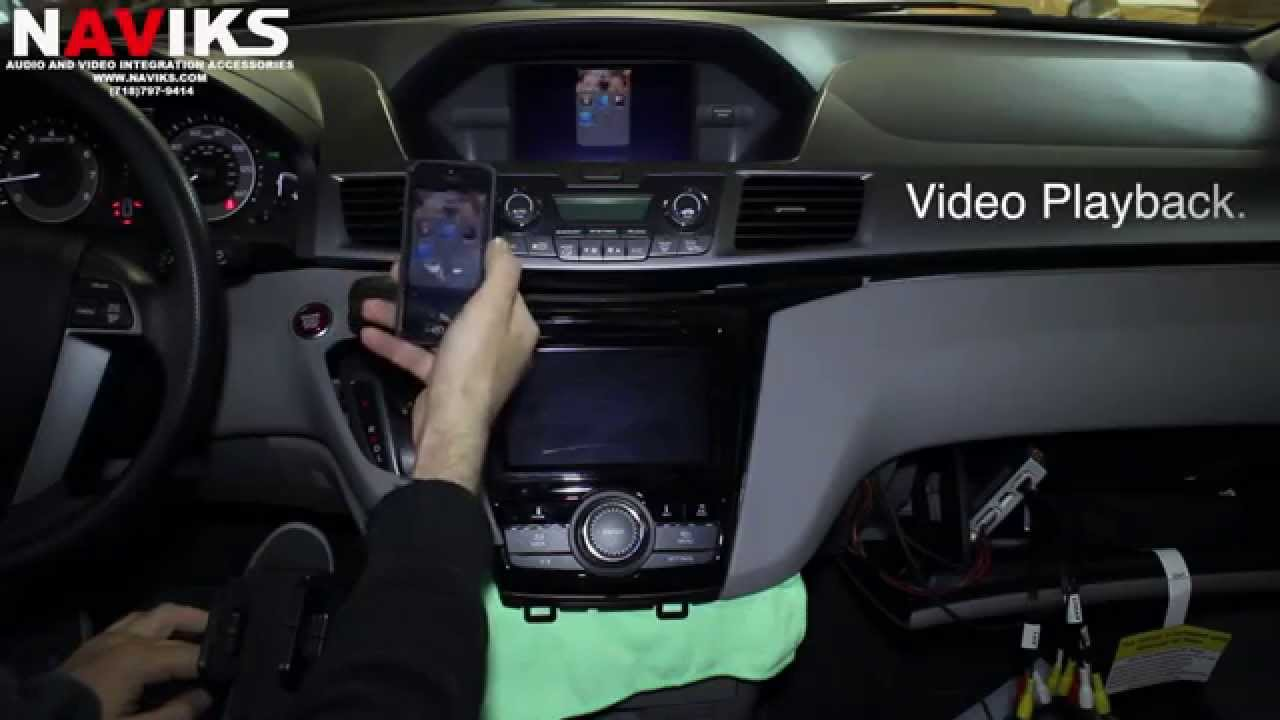 2014 Honda Odyssey Naviks Video Integration Interface