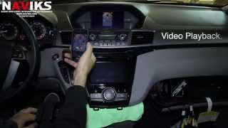 2014 Honda Odyssey NAVIKS Video Integration interface iPhone 5 iPhone 5 + Kivic One