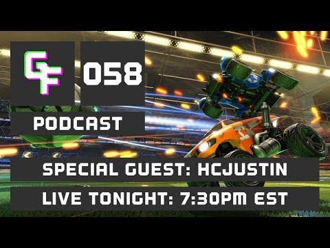 Download GlitchFeed Live with HCJustin! Rocket League and Fallout!