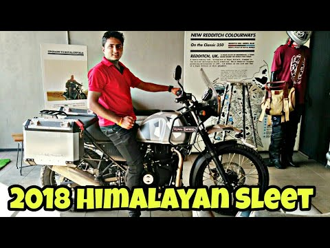 2018 Royal Enfield Himalayan Sleet limited edition launch, price, details, specifications, colours