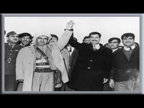 """New Video Mustafa Barzani and Saddam Hussein what went wrong """"Halabja massacre"""""""