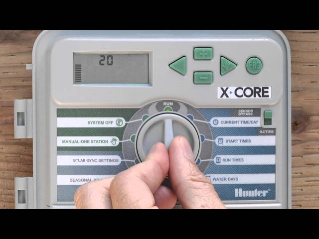 Hunter X-Core Programming Overview and Setting Up Program A