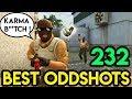 "CSGO - ""INSTANT KARMA 2 !"" - BEST ODDSHOTS #232 (+GIVEAWAY)"