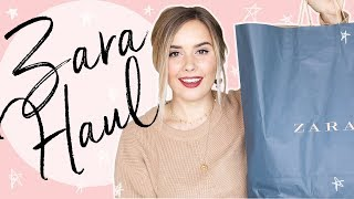 ZARA HAUL + TRY ON | Hello October Vlogtober Day 8