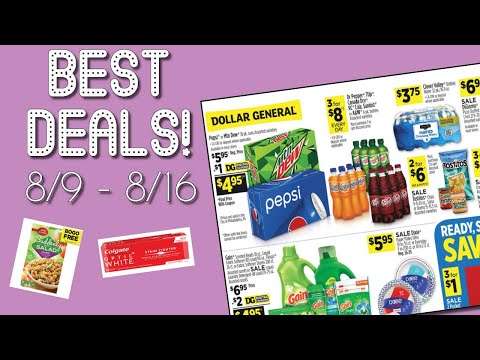 Dollar General Weekly Ad Review + BEST Digital Coupons To Clip! (8/9 - 8/16)