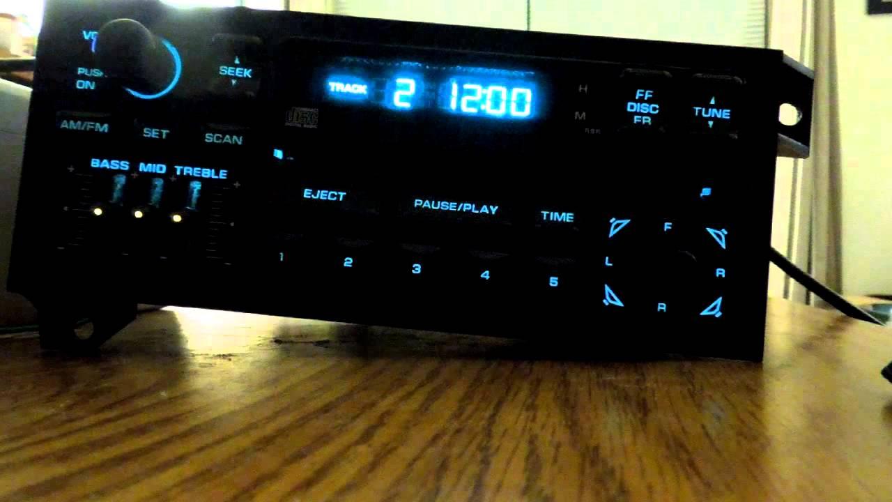 Chrysler Jeep Dodge Plymouth OEM AM FM Radio CD Player