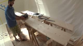 ЛЕСТНИЦА В ПОДВАЛ 2(Привет,всем!!!!!В этом видео мы завершаем приготовления к сборке и установке лестницы.А то как мы ее делали..., 2015-07-31T19:10:32.000Z)