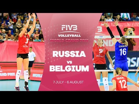 Russia v Belgium - FIVB World Grand Prix