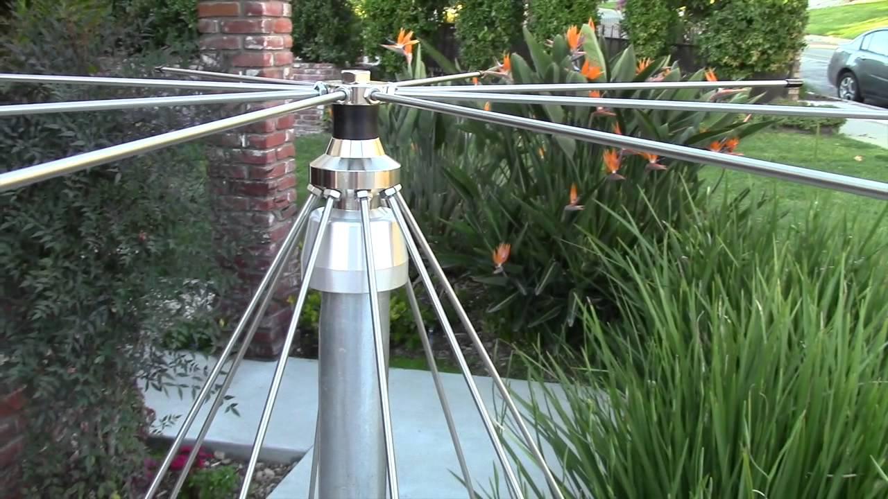 Ae6lx Installs A Jetstream Discone Vhf Uhf Antenna Youtube