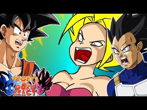 Cover Lagu Vegeta & Goku React To Caulifla Goes Super Saiyan STAFABAND